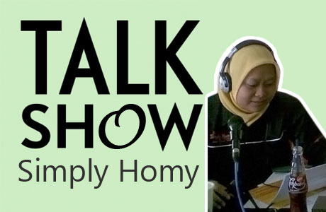 Simply Homy Talk Show di Radio MQ FM Jogja