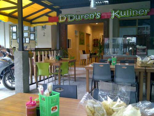 Mabuk Duren di D'Duren's - Bandung