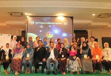 Kegiatan Pelatihan ESQ Sushantco Group, 28- 29 April 2012