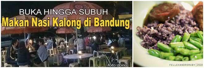 Gak Bisa Tidur ? Santap Nasi Kalong Yuk di Bandung