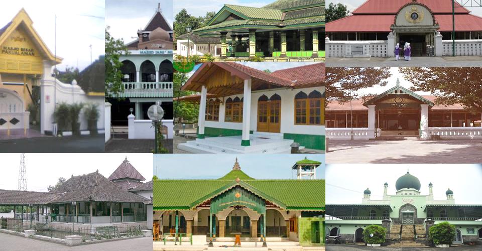 Masjid-Masjid Bersejarah di Yogyakarta