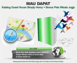 guest house jogja katalog dan peta