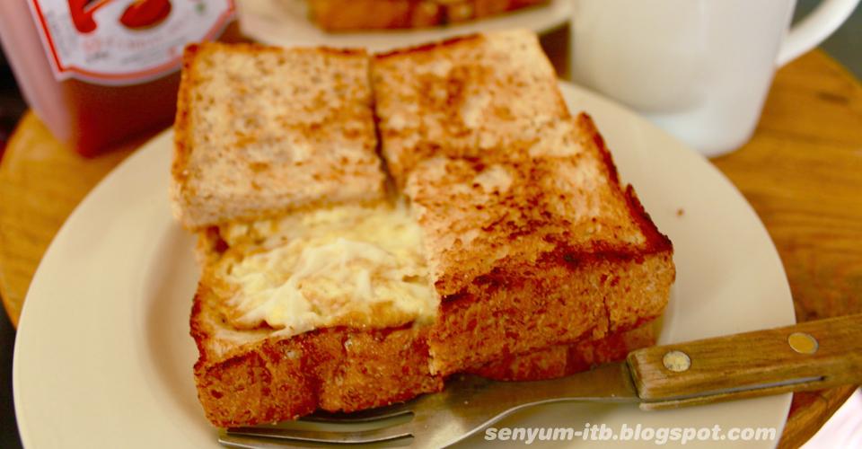 Roti Bakar Gempol Khas Bandung