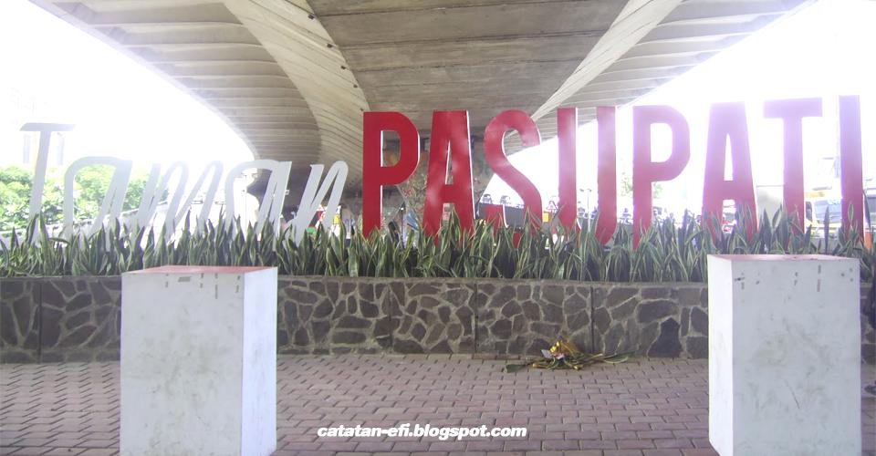 Jalan-jalan ke Taman Pasupati