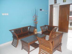 guest house jogja sawitsari 2 ruang tamu