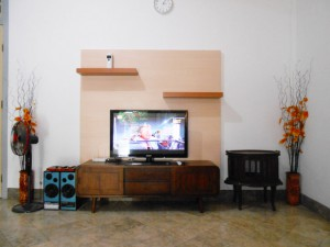 ruang keluarga guest house jogja unit malioboro
