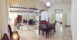 ruang makan guest house jogja malioboro
