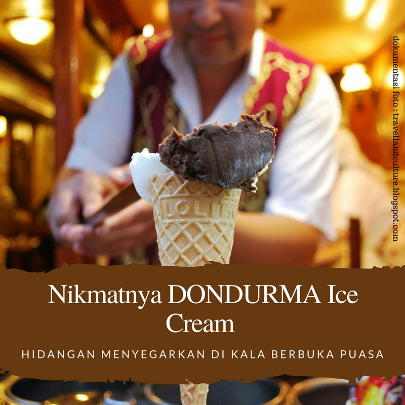 Nikmatnya kesegaran berbuka puasa dengan dondurma ice cream