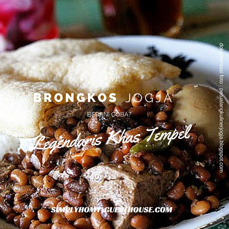 Brongkos jogja Legendaris lezatnya dari zaman ke zaman