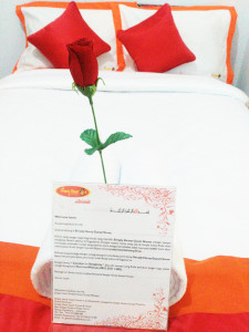 guest house jogja welcome letter