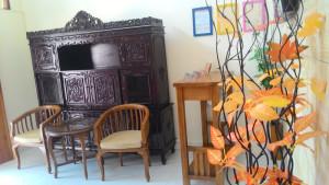 guest house jogja jl.kaliurang ruang tamu