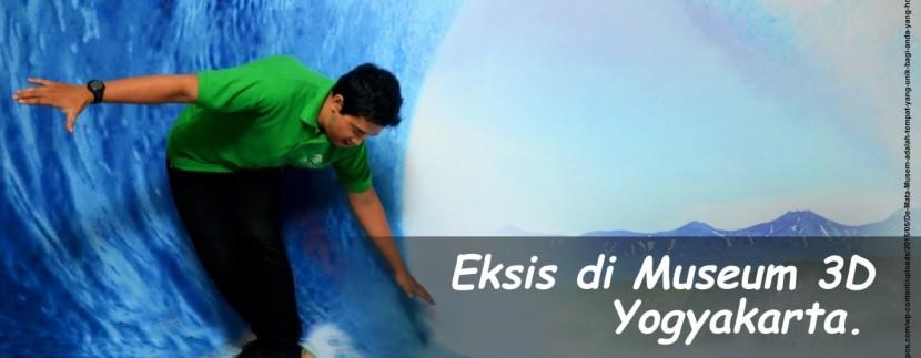 Keren! di Museum 3D Yogyakarta,  Kita Bisa Berfoto Narsis Bersama Keluarga Lho