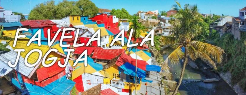 Wow, tempat unik di jogja ini bisa di katakan Favela-nya Brazil Namun Bergaya Jogja,