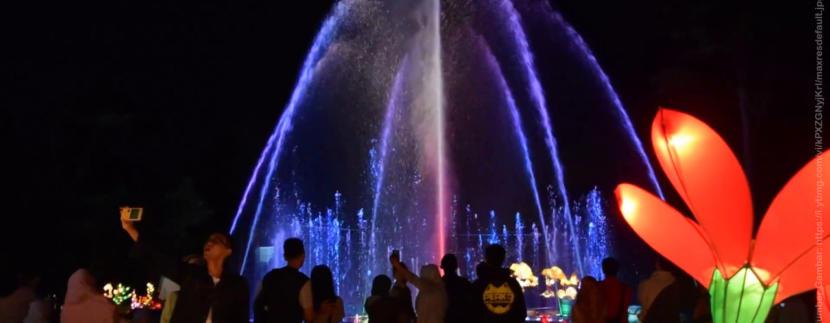 """Sedang Liburan Sekolah? Jangan Lewatkan Kemeriahan Festival Of Light Kaliurang 2017 """"Dancing Fountain"""" Ini"""