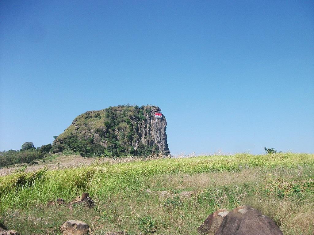 tebing gunung gajah