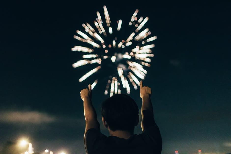 merayakan tahun baru