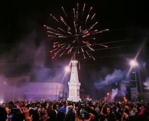 tempat malam tahun baru