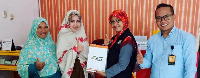 ACT Gelar Program Kerjasama Misi Kemanusian Untuk Palestina bersama Simply Homy